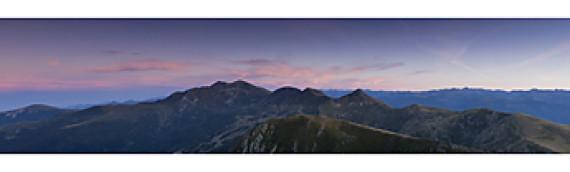 Coucher de soleil depuis le Mont Fourcat