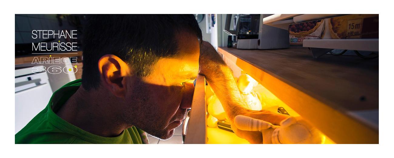 Technique strobist... flash dans le tiroir... gélatine et ZOU ! Le tiroir magique !