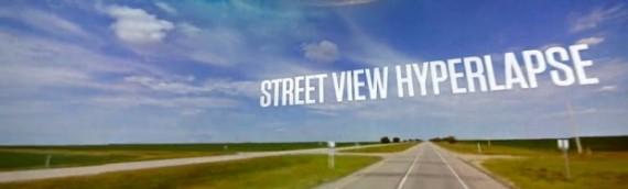 Projet Hyperlapse – Google Streetview