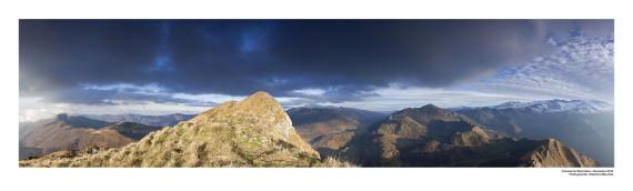 Mont Béas au format panoramique