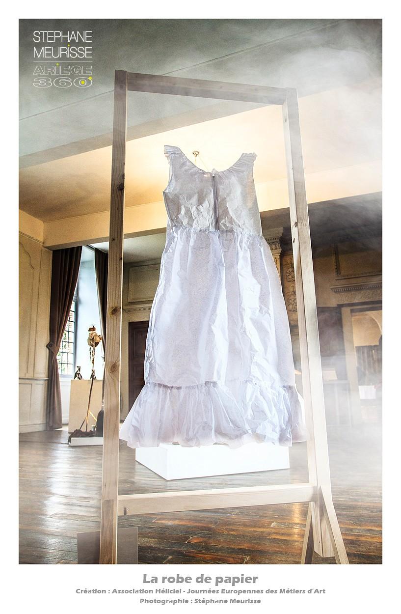 robe de papier-border